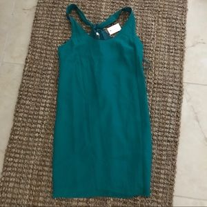 Jcrew factory green dress NEW w/ tags. Small